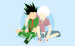 Gon Freecss and Killua Zoldyck / Hunter x Hunter