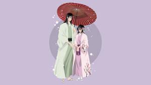Byakuya and Hisana - Bleach by Dingier