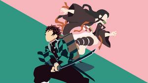 Tanjiro and Nezuko - Demon Slayer:Kimetsu no Yaiba
