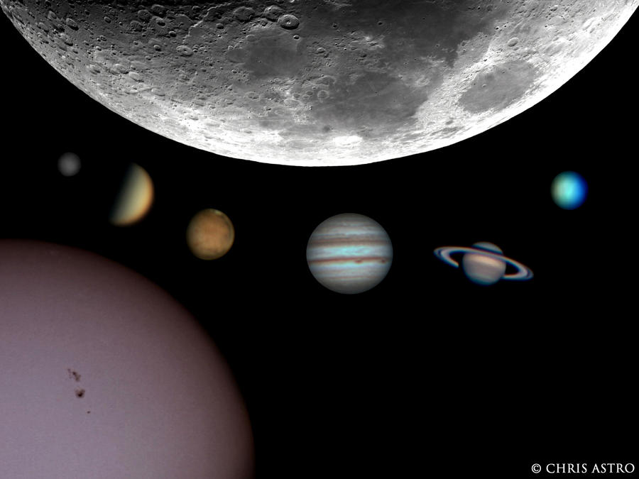 Solar System 2011-2012 by ChrisAstro101