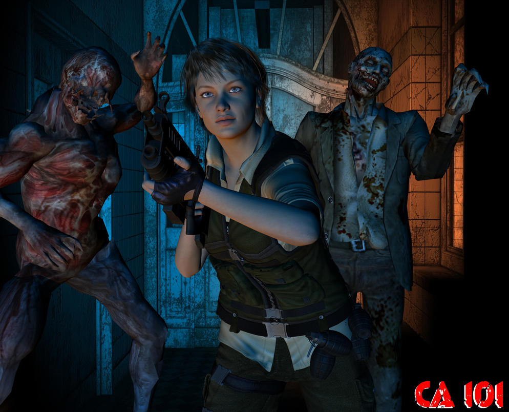 Rebecca Chambers In Resident Evil 7 By Charona101 On Deviantart