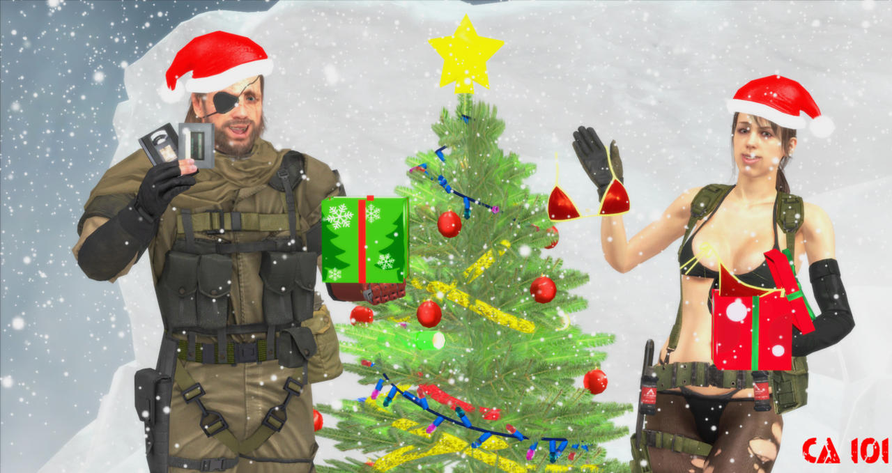 A Metal Solid Christmas by CharonA101 on DeviantArt