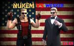 Nukem Vs Wesker for President of the United States