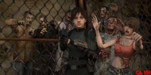 Rebecca Chamber Resident Evil 7 by CharonA101