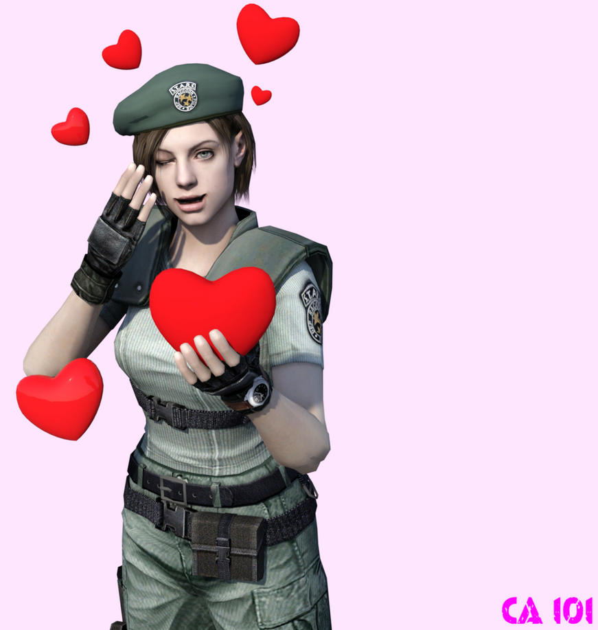 A Valentine From Jill Valentine by CharonA101