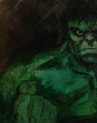The Incredible Hulk by mw777