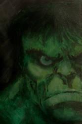 The Incedible Hulk (detail) by mw777