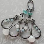 Nymphs earrings