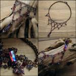 Lilac Shine necklace