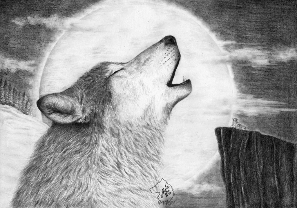 Alpha Howler by Dark-Lioncourt