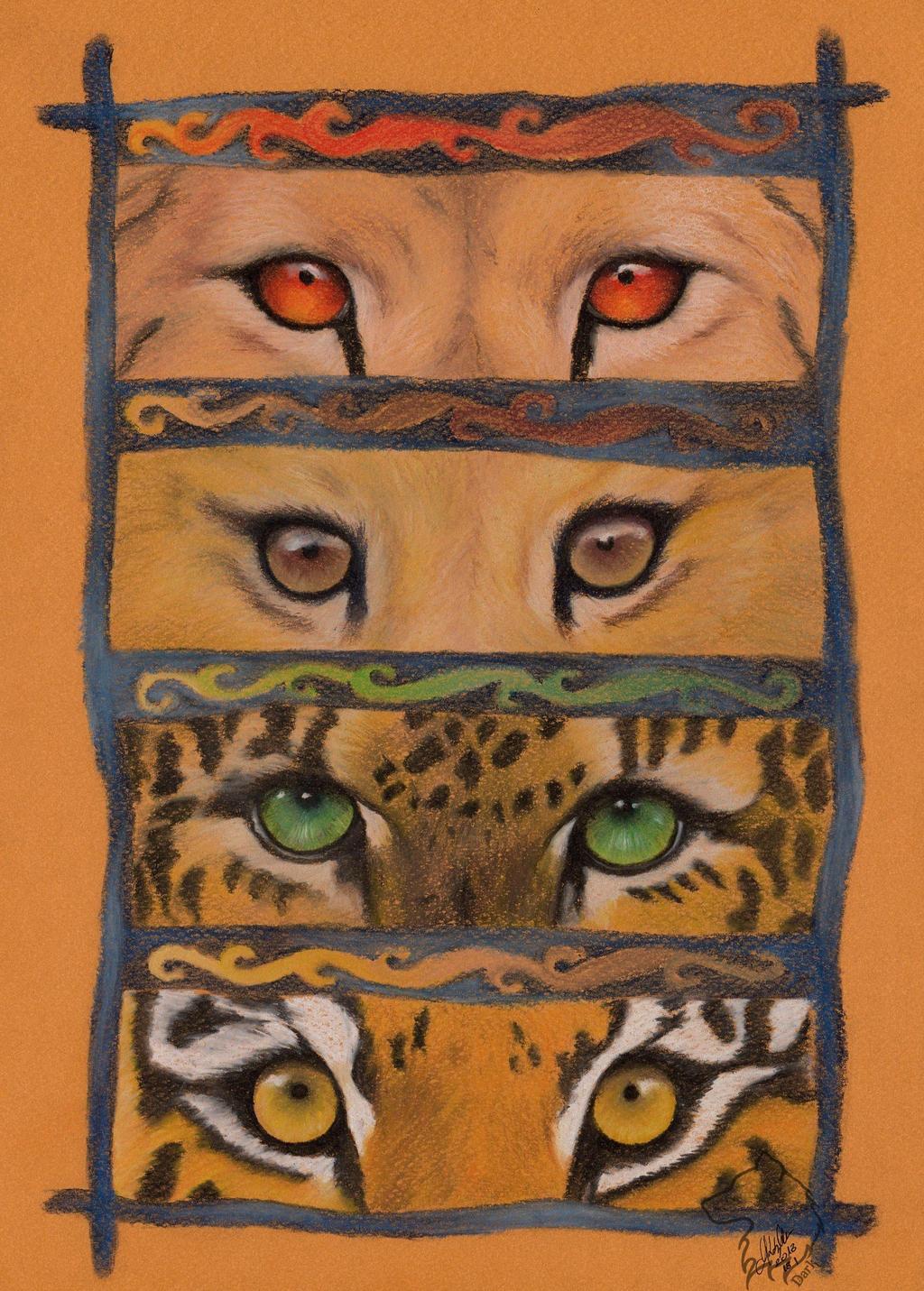 Looking through by Dark-Lioncourt