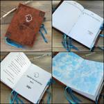 Wolf calendar 2014 - handmade book