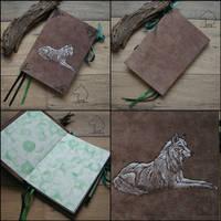 Kiba - handmade sketchbook by Dark-Lioncourt