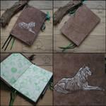 Kiba - handmade sketchbook