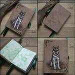 Koubi - handmade sketchbook