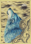 Blue Ash Wolf by Wicked-Darkling