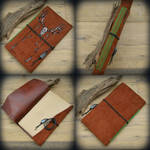 Deer Skull softcover leather journal