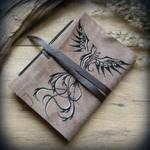 Phoenix leather journal by Dark-Lioncourt