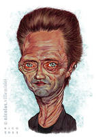 Christopher Walken by ElectroNic0