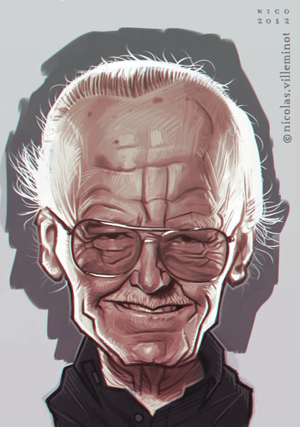 Stan Lee :: sketch by ElectroNic0