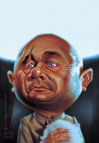 Ernst Stavro Blofeld by ElectroNic0