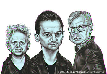 Depeche Mode by ElectroNic0