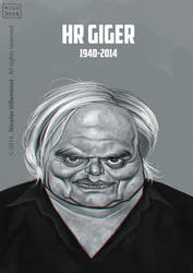 H.R. GIGER by ElectroNic0