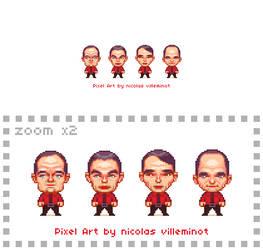 Kraftwerk :: Pixel Art by ElectroNic0