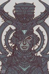 Electric Queen :: Line Art