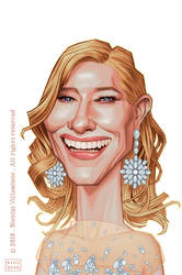 Cate Blanchett by ElectroNic0