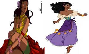 Esmeralda vs Esmeralda