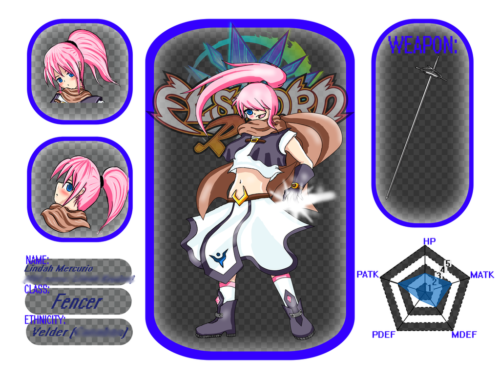 [NEW 2015] Elsword-RPs Profile: Lindy by phoenixn91