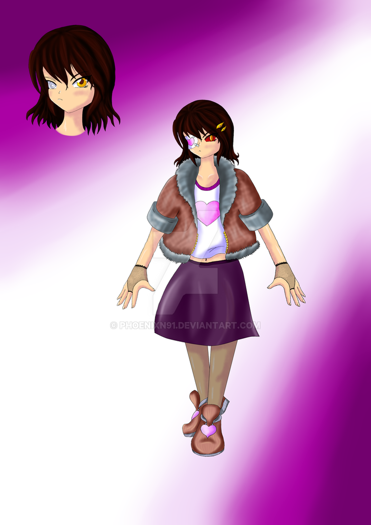 [NEW OC] Antonia, the Rune Queen by phoenixn91