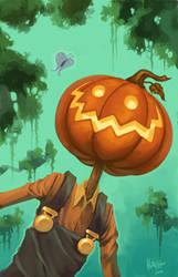 Pumpkinhead by Dhutchison