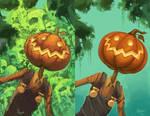 Jack Pumpkinhead comparison