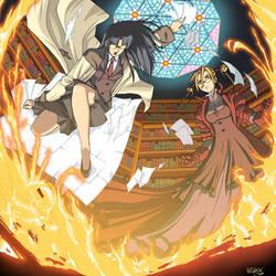 R.O.D. vs Witch Hunter Robin