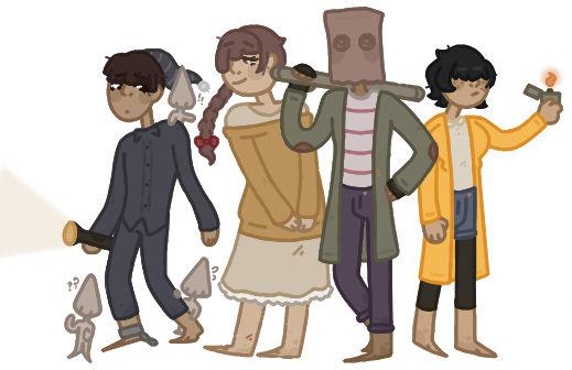 the gangs all here! (aka all the main ln kids)