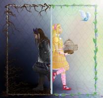 On the mirror's edge by SatokoChaaan