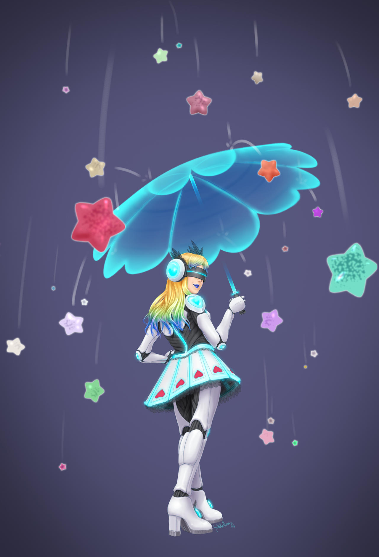 Image result for Raining Stars
