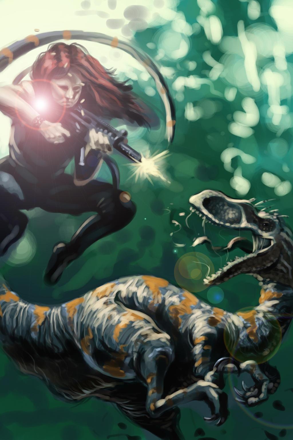 Raptor Mercenary by Cookiee1991