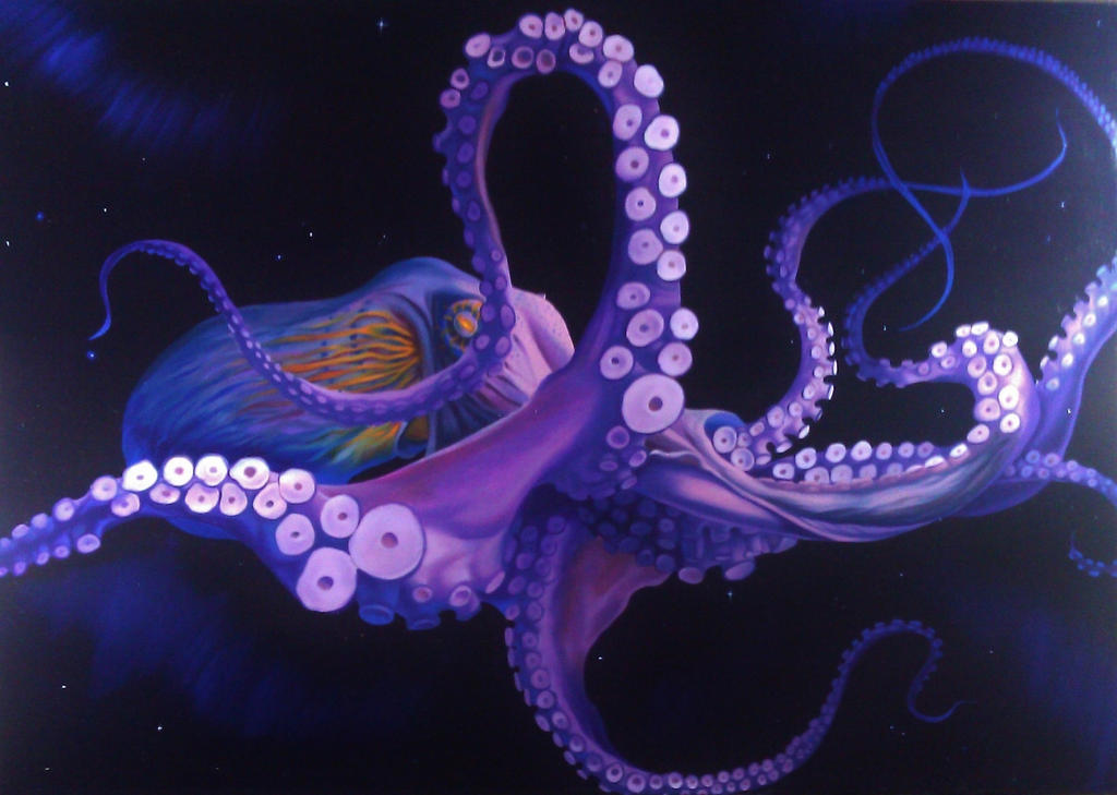 Space Octopus By Cookiee1991