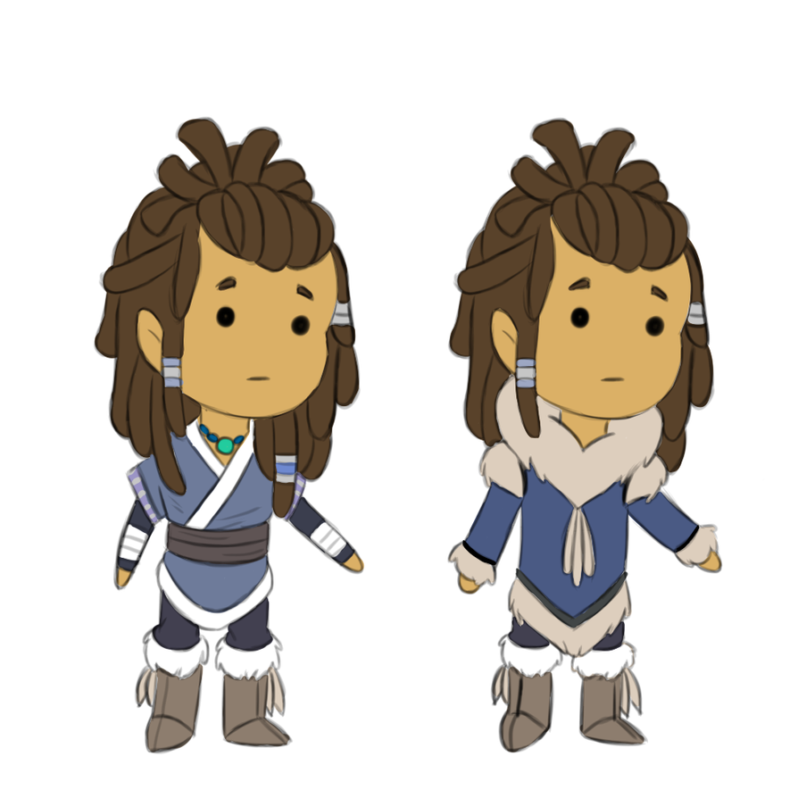 Water tribe clothes by SharkMate