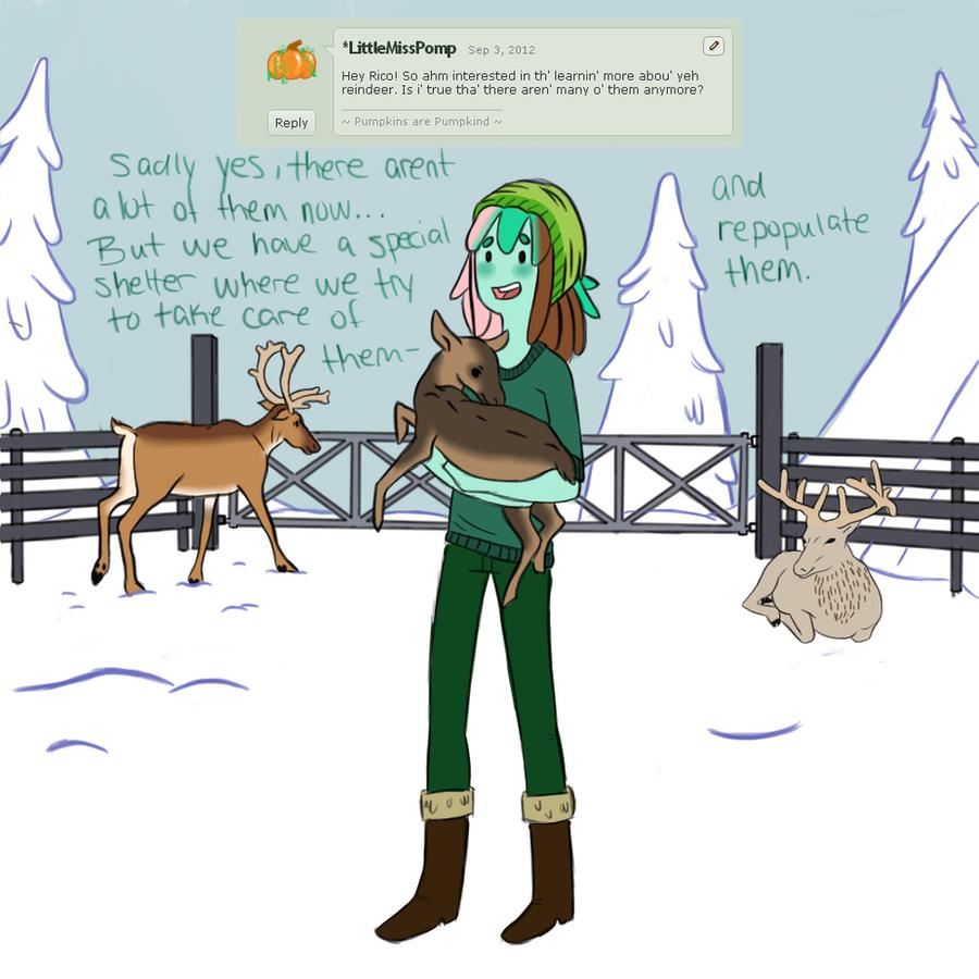 Reindeer by SharkMate