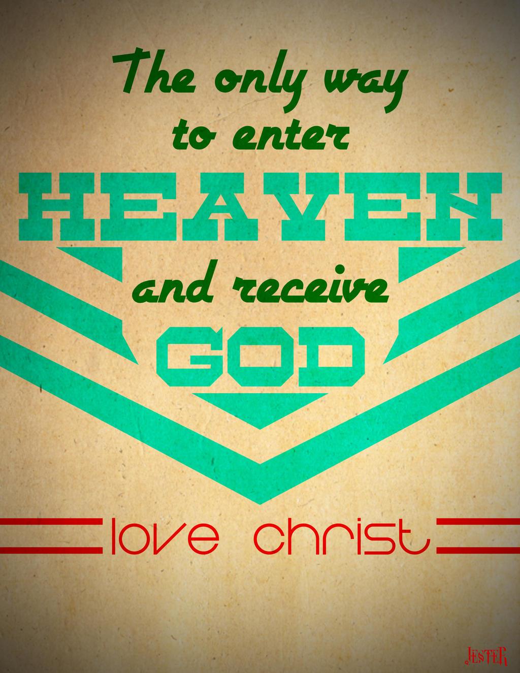 Entering Heaven by MattShadoinDesign