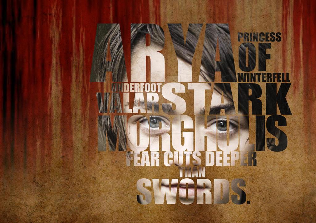 Arya Stark by MattShadoinDesign
