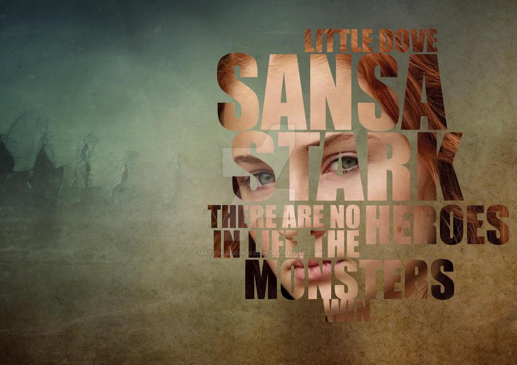 Sansa Stark by MattShadoinDesign