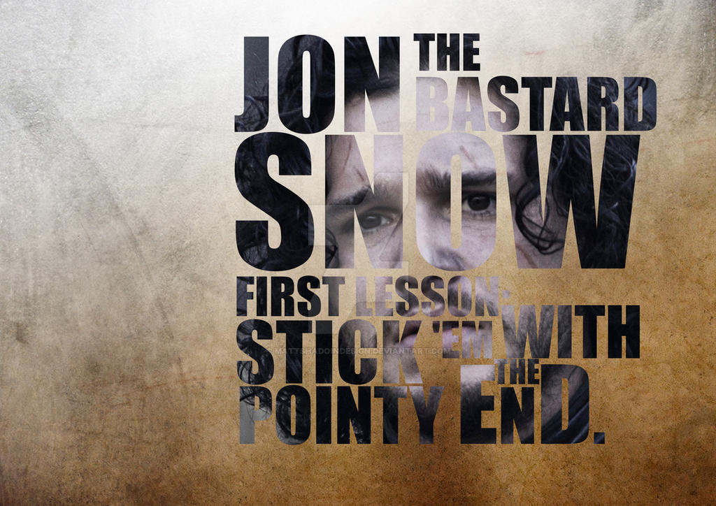 Jon Stark by MattShadoinDesign
