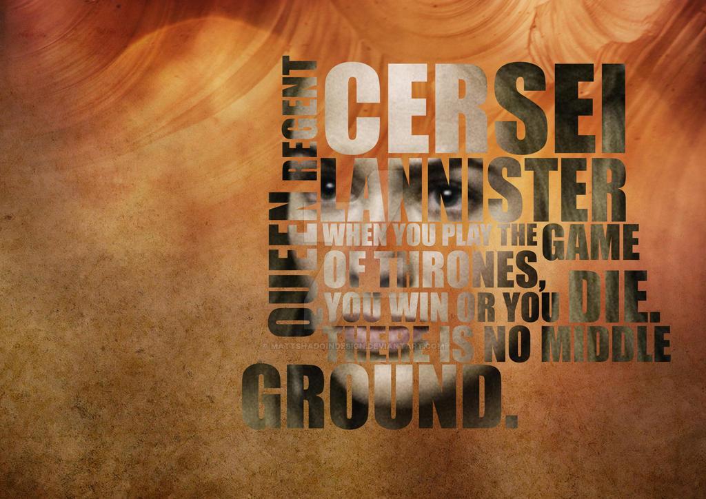 Cersei Lannister by MattShadoinDesign
