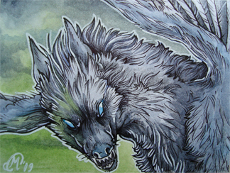 ACEO - Annush K by meerle