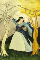 Luthien Among the Hemlock by EshMholl